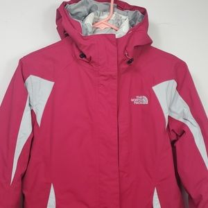 Womens Columbia jacket HyVent pink sz M